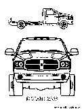 free kids coloring pages  dodge ram coloring page