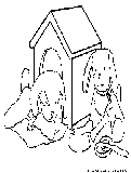 Dog Picture Coloring Page1