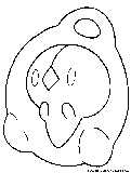 Psychic Pokemon Coloring Pages