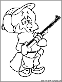 Elmerfudd Coloring Page