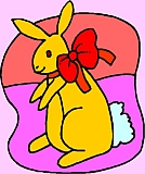 giftbunny- picture of easter bunny