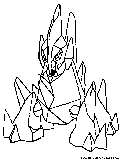 gigalith coloring page