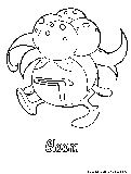 pokemon gloom coloring pages - photo#23