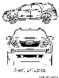 Free kids coloring pages gmc acadia coloring page for Gmc coloring pages