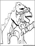 godzilla coloring pages free printable colouring pages for kids to