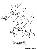 pokemon corphish coloring pages - photo#40