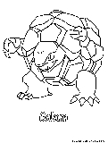 sandslash pokemon coloring pages - photo#31