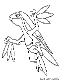 Grass Pokemon Coloring Pages