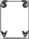 halloween coloring pages borders - photo#21