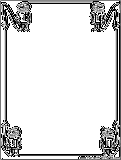 halloween coloring pages borders - photo#10
