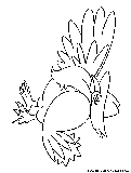 Honchkrow Coloring Page