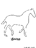Horse Coloring Page3