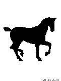 horse5 silhouette