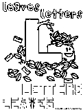 l leaves letters
