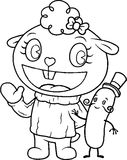 Lammy Mr Pickels Coloring Page