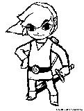toon link coloring pages - photo#10