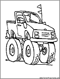 grave digger logo coloring pages - photo#19