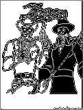 lone ranger zorro coloring page