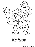 machamp pokemon coloring pages - photo#29