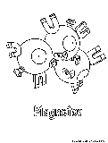 pokemon magneton coloring pages - photo#23