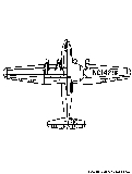 Martinm130 Flyingboat Coloring Page