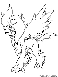 Mega Absol Coloring Page