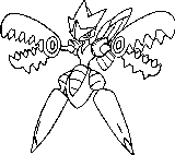 Butterfree Coloring Printable Flying Pokemon Sheet