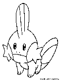 mudkip coloring pages - photo#22