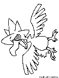 Murkrow Coloring Page