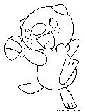 Pokemon Oshawott Coloring Pages. Oshawott Coloring Page Mudkip