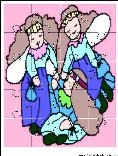 printable angels jigsaw