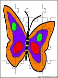 printable butterfly jigsaw