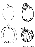 Pumpkin Coloring Page4