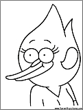 regular show printable coloring pages - photo#34