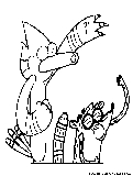 regular show printable coloring pages - photo#28