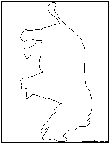 rhinoceraus outline
