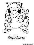 sandslash pokemon coloring pages - photo#25