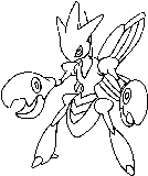 More Bug Pokemon Coloring Pages