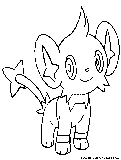 pokemon coloring pages shinx nicknames | Electric Pokemon Coloring Pages - Free Printable Colouring ...