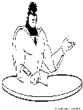 Space Ghost Coloring Page
