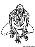 Spiderman Edgeoftime Coloring Page