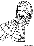 Spiderman Coloring Page1