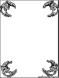 halloween coloring pages borders - photo#5