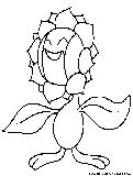 Snivy Coloring Page Snivy Coloring Pages