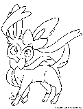 Sylveon Coloring Page