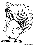 Thanksgiving Turkey Coloring Page2