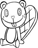 Toothy Coloring Page