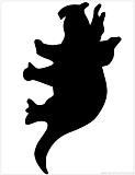 triceratops silhouette