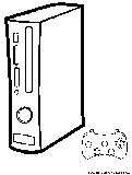 xbox coloring page