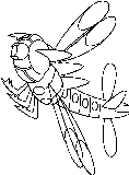 Bug Pokemon Coloring Pages Free Printable Colouring